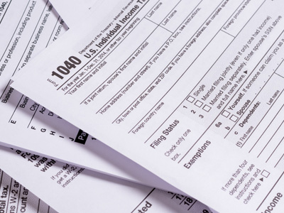 Paper tax forms